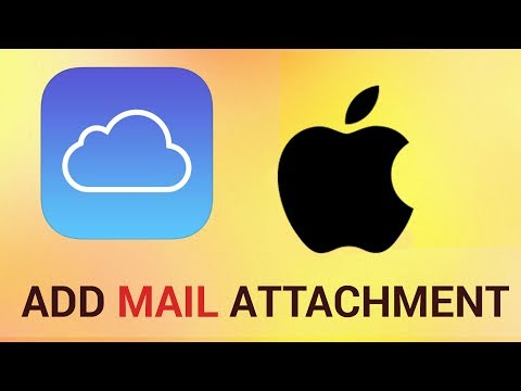 How to Add Mail Attachment from iCloud in iPhone and iPad