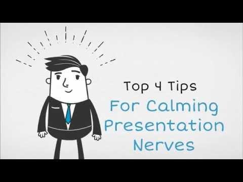 Top 4 Tips for Calming Presentation Nerves