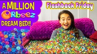 Flashback Friday - Million Orbeez Dream BED!   Official Orbeez