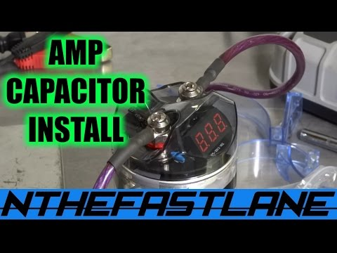 Amplifier Capacitor Installation