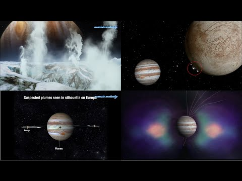 EUROPA: Water Plumes on Jupiter's Icy Moon Shooting up as High as 125 miles