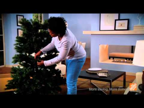 Quick Tips: How to Shape an Artificial Christmas Tree