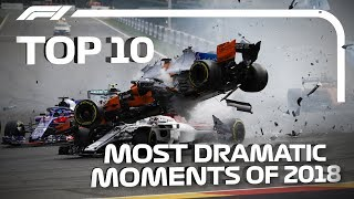 Top 10 Most Dramatic Moments of 2018