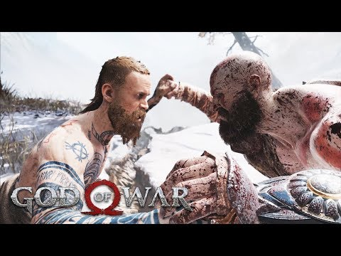 THE STRANGER Boss Fight GOD OF WAR 4 (PS4 Pro)