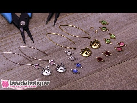 Quick & Easy DIY Jewelry: Meow Meow Kitty Earrings