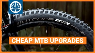 Top 5 | Cheap Mountain Bike Upgrades That Will Make Your Bike Better