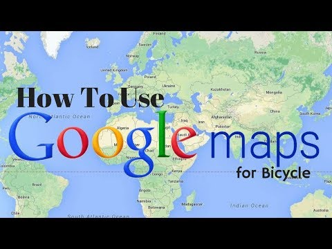 How To Use Google Maps Navigation and CYCLYK for Bicycle