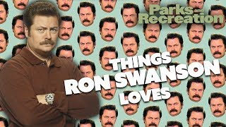 Ron Swanson LOVES..| Parks and Recreation | Comedy Bites