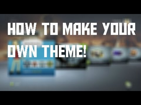 How To Make Your Own Theme/Wallpaper For Xbox 360/Xbox One!