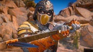 Mortal Kombat 11 Nightwolf Gameplay Brutality Vs. Jacqui