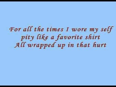 God Gave Me You With Lyrics Example Using Flash 8