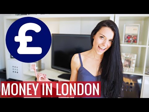 How to Exchange + Spend Money in London