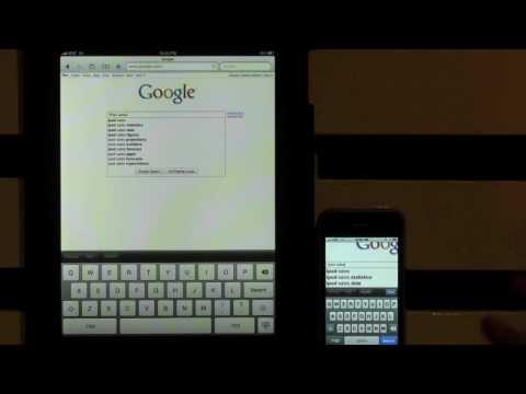 3G iPad vs 3G iPhone internet speed