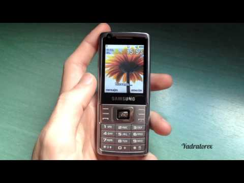 Samsung SGH-L700 retro review (old ringtones, wallpapers, camera...)