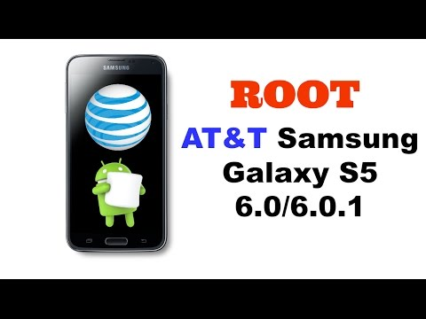 How to Root AT&T Samsung Galaxy S5 6.0.1