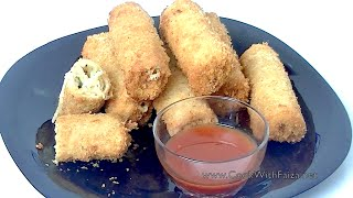 CHEESEY BREAD FINGER *COOK WITH FAIZA*