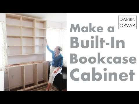 Built-In Cabinet Series Pt 2: Building Base & Shelves | Darbin Orvar