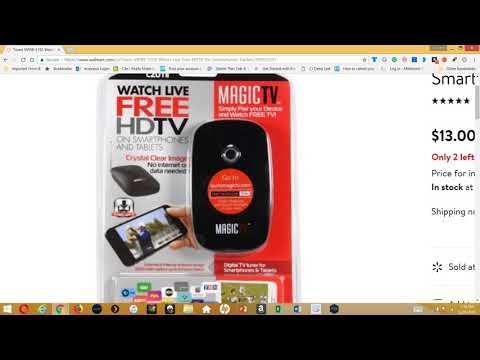 TZUMI MAGIC TV WATCH LIVE FREE HDTV On Clearance @Walmart $13! Go Get It NOW!
