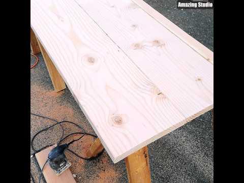 DIY Wooden Kitchen Countertops To Make