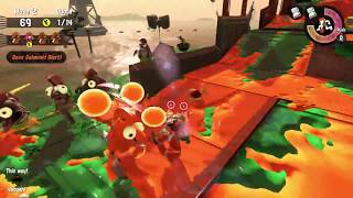 Splatoon 2: 4-Player Salmon Run Gameplay (100% Difficulty)
