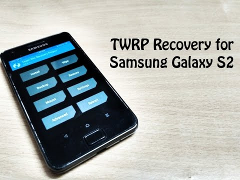 Install TWRP Recovery on Galaxy S2