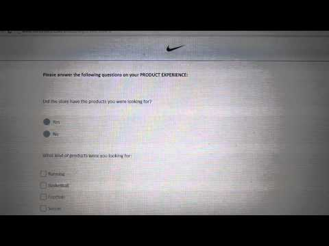 Pulse codes/inmoment/tell nike