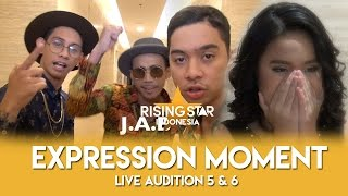 Expression Moment Live Audition 5 & 6 | Rising Star Indonesia 2016