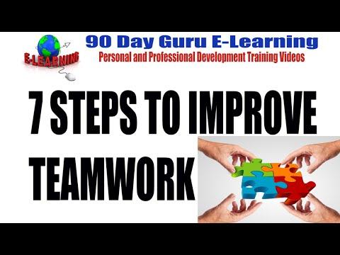 7 Steps to Improve Teamwork