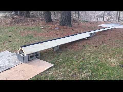 Inline Skating DIY Rail