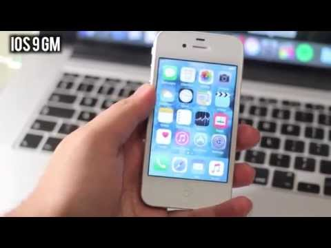 iOS 9 Official iPhone 4s - (Speed Test) + Feels FASTER!!