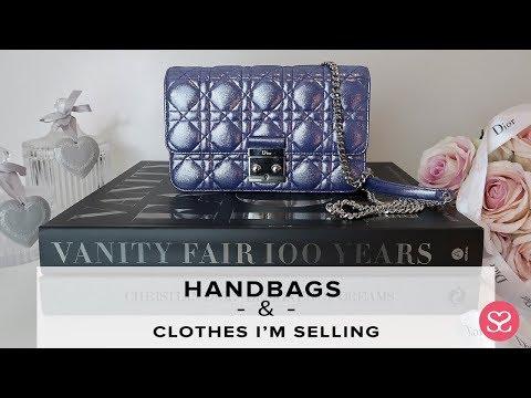 MY LIVE WARDROBE SALE! Chanel, Dior, Gucci, Kenzo and more!  | Luxury Handbags | Sophie Shohet