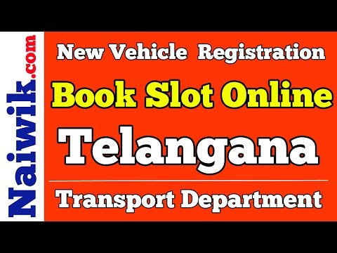 New Vehicle Registration || Telangana Transport Department | Book slot online