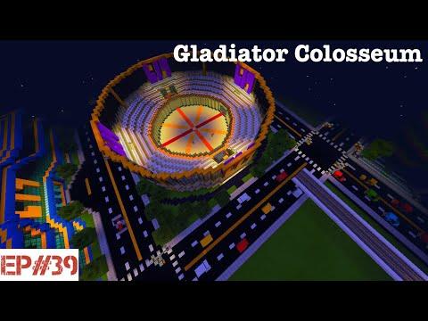 Building A City   #39   Gladiator Colosseum