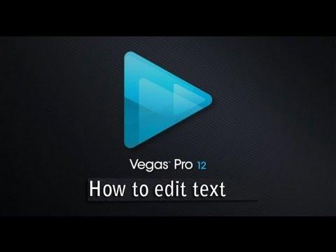 Sony Vegas Basics: How to Create Text