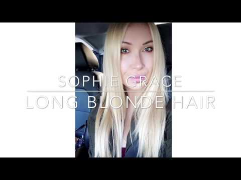 How To Get Long Blonde Shiny Hair In A Good Condition, everyday hair care routine | Sophie Grace