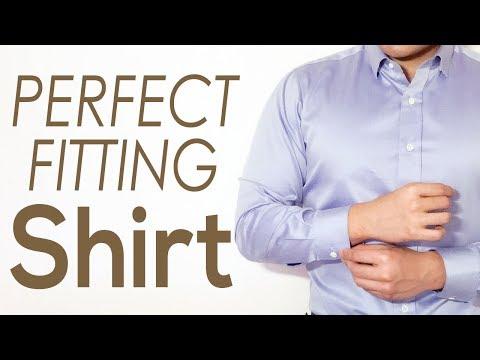 How a Dress Shirt SHOULD FIT