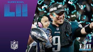 Eagles Trophy Presentation & MVP Ceremony! | Eagles vs. Patriots | Super Bowl LII Postgame