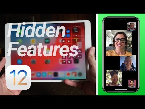 iOS 12 Hidden Features & Changes! (Group FaceTime & More)
