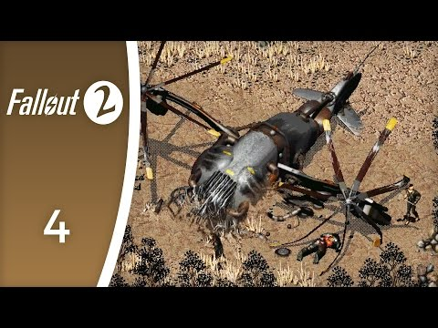 A flower opens its petals - Let's Play Fallout 2 #4