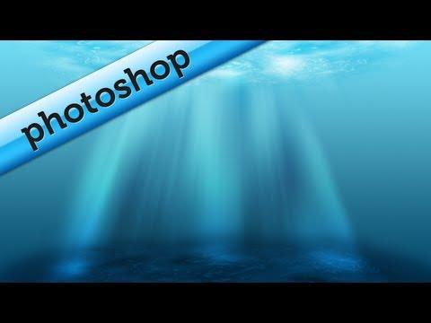 Create a simple underwater scene in Photoshop