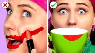 Oops! 10 Easy And Useful Beauty Hacks and DIY Girly Ideas