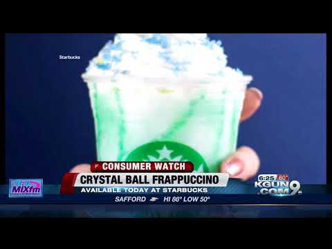 'Crystal Ball Frappuccino' is the new secret Starbucks drink