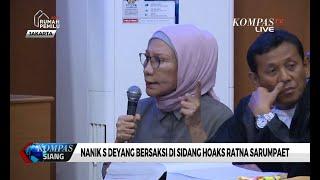 Kesal dan Jengkel, Ratna Sarumpaet: Nanik Deyang Banyak Berbohong