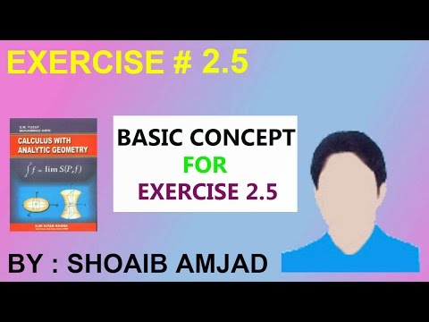 Excercise #2.5 Basic Concept For Calculating Nth Derivative - Shoaib Amjad