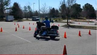 ▶ Virgina State Police Motorcycle Cone Course