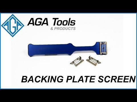 AGA Backing Plate Screen