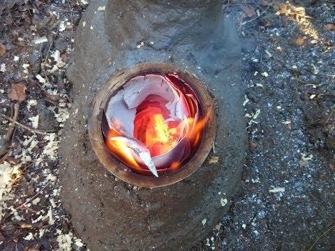 Rocket stove experiments 2