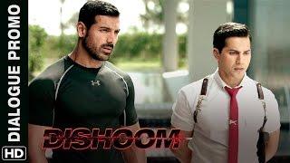 Varun Dhawan can't get his eyes off Nargis Fakhri | Dishoom | Dialogue Promo