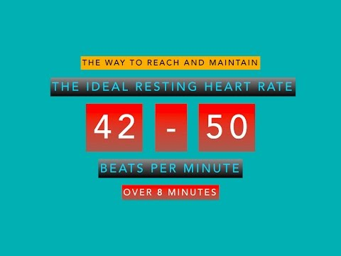 How you can maintain pulse between 42 -50 bpm over 8 minutes
