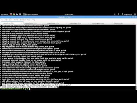 100 Linux Tutorials: How to Apply a Patch to the Linux Kernel Stable Tree